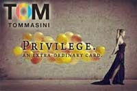 Privilege Card TOM - scopri i vantaggi